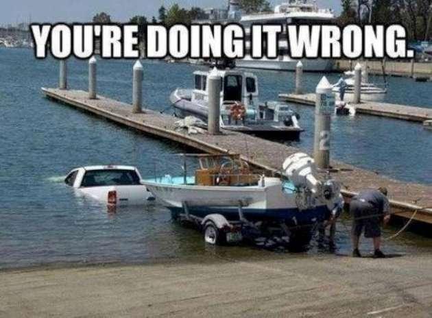 You re doing it wrong Car Meme