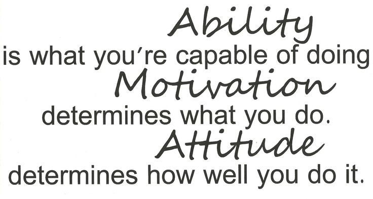 Ability Quotes Ability is what you're capable of doing motivation
