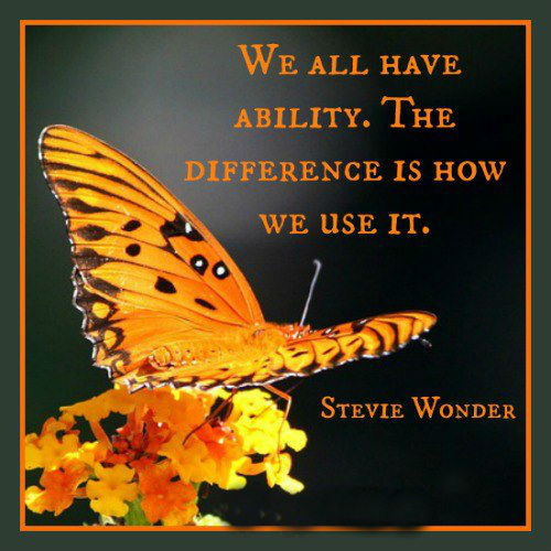 Ability Quotes We all have ability the difference is how we use it