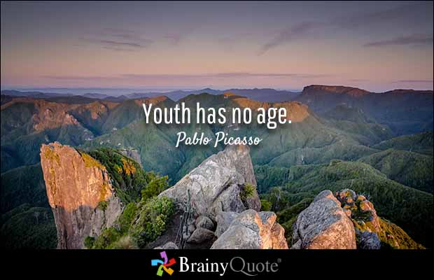 Age Quotes youth has no age