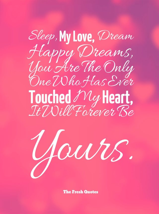 Amazing Good Night Love Quotes