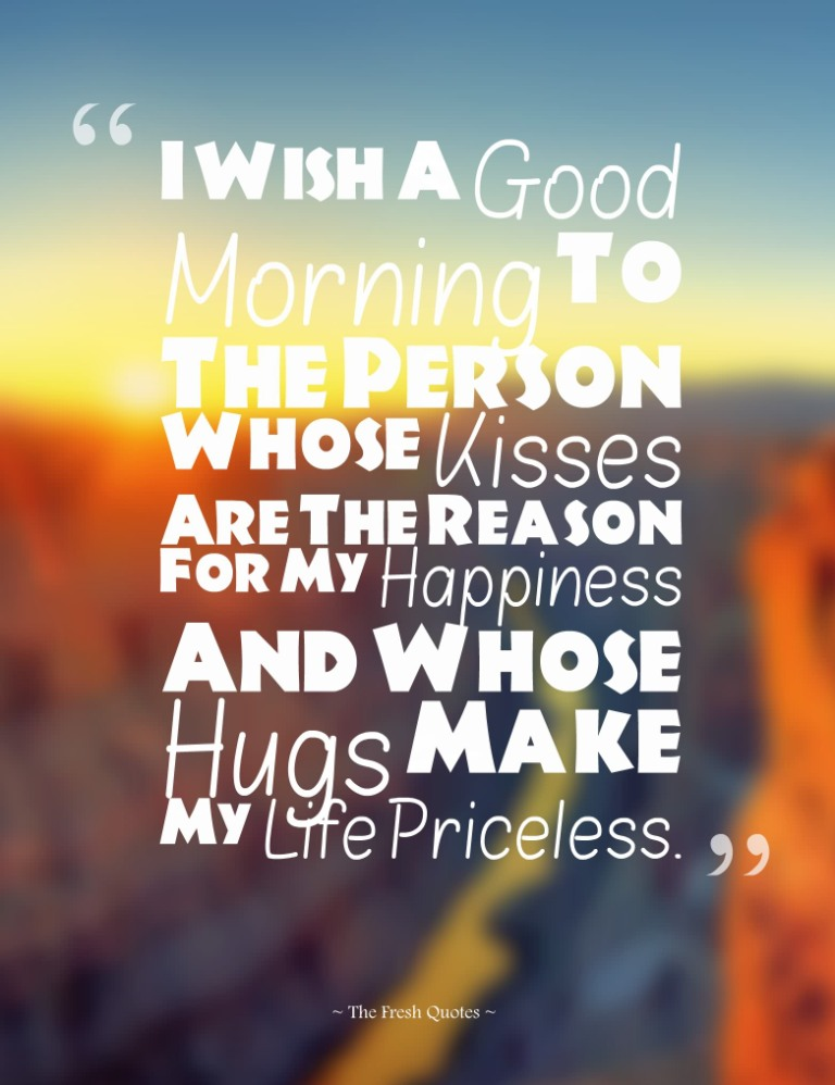 Awesome Good Morning Love Quotes