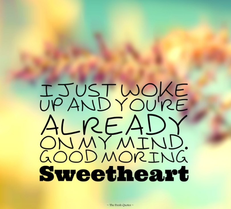 Beautiful Good Morning Love Quotes