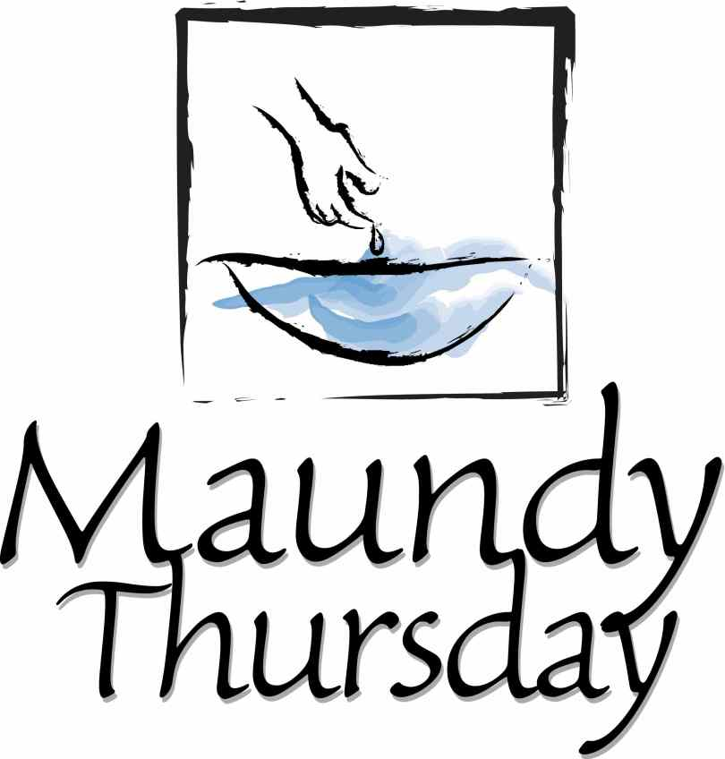 Celebrate Maundy Thursday Clipart