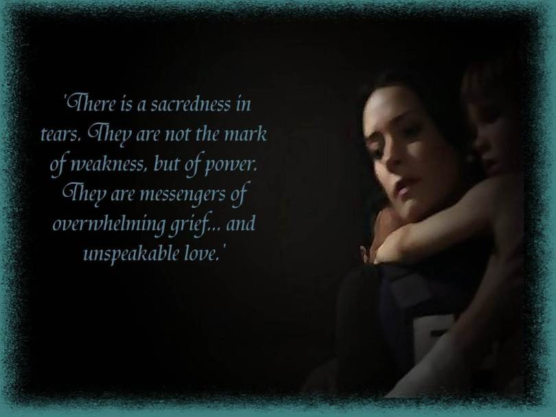 Criminal Quotes There is a sacredness in tears