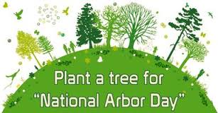 Friends Message To Happy Arbor Day Plant A Tree