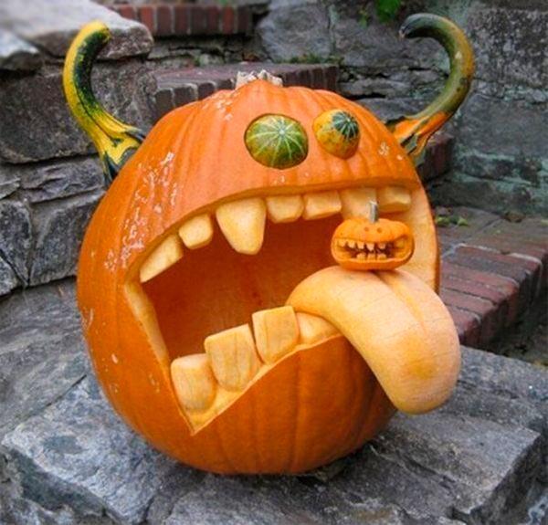 Funny Pumpkin Meme