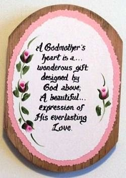 Godmother Quotes a godmother is heart is a wonderous gift