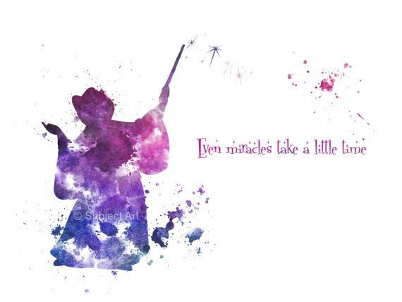 Godmother Quotes even miracle take a little time