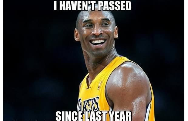 I haven't passed since last year Sports Meme