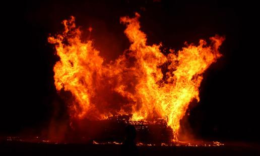 Lag BaOmer Bonfire Image