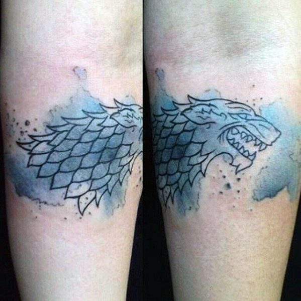 Latest Game Of Thrones Tattoos On arm for girl