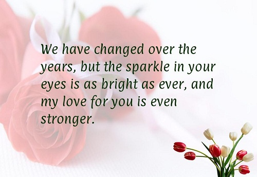 Love Quotes For Husband we have changed over the years