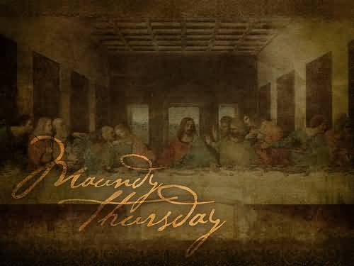 Maundy Thursday Diner With Jesus Celebrations
