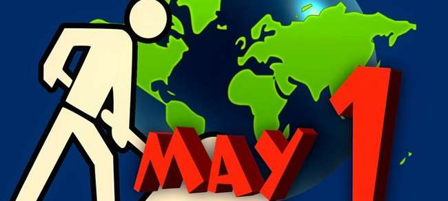 May Day Labor's Day Wishes Images