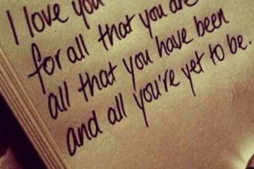 Motivational Love Quotes i love you for all that you are