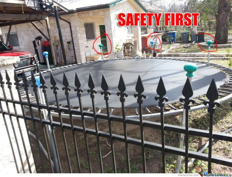 Safety Meme safety first