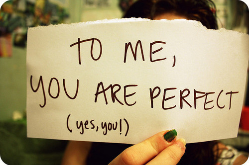 Short Love Quotes to me you are perfect