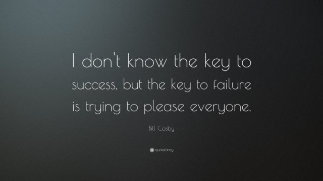 Success Quotes I don't know the key to success but the key to failure is trying