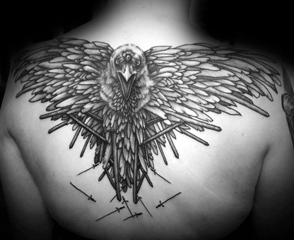 Sweet Game Of Thrones Tattoos For boy's back