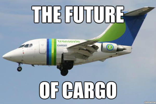 The future of cargo Plane Memes