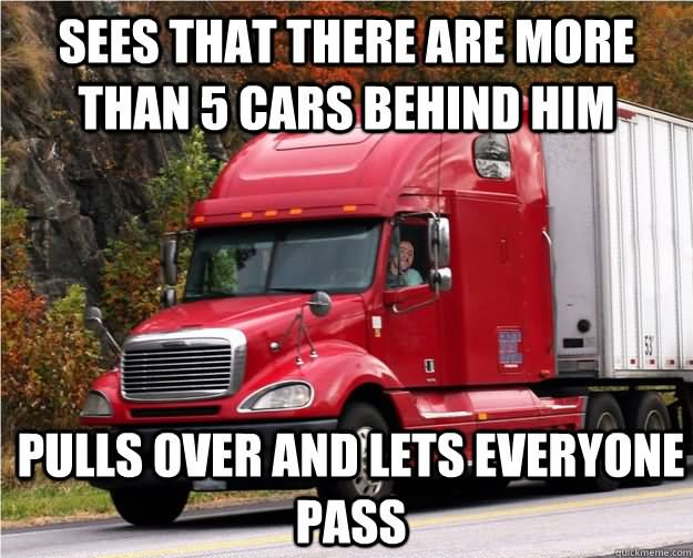 Truck Memes Sees that there are more than 5 cars