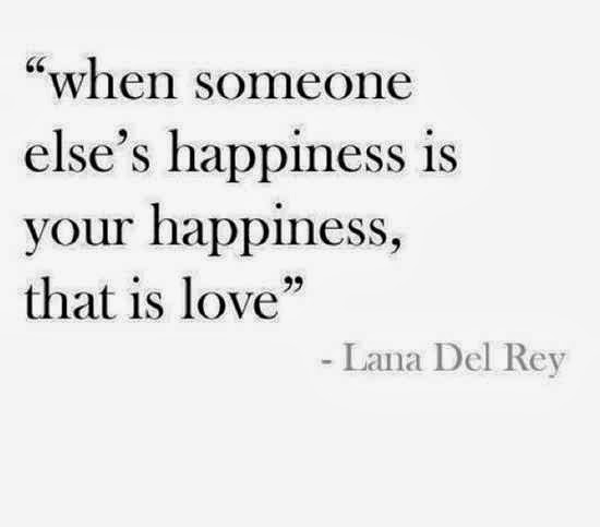 True Love Quotes when someone else's happiness is your happiness