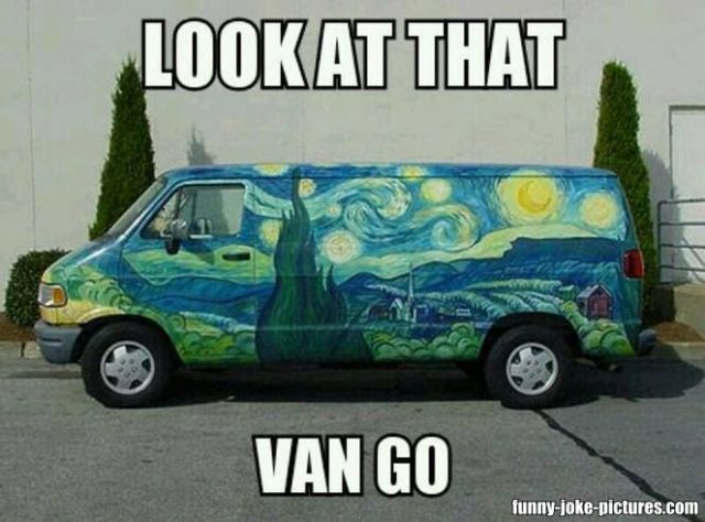 Van Memes Look at that van go
