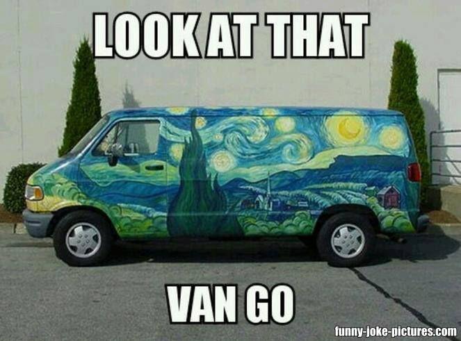 Van Memes Look at that van go