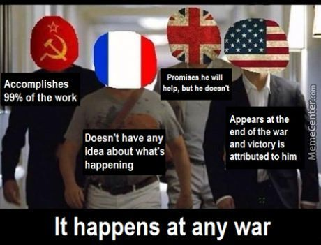 War Memes Accomplishes 99 of the work