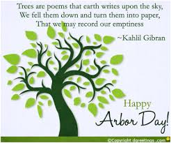 Wishing Happy Arbor Day Message Image