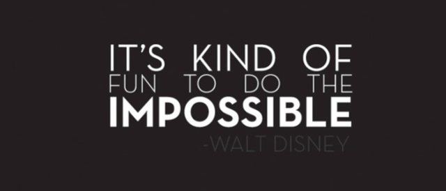 impossible quotes it's kind of fun to do the impossible