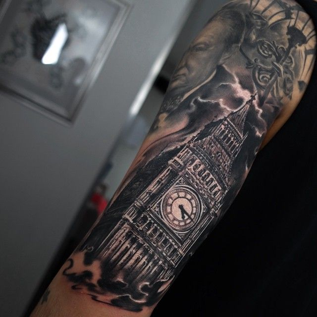 Big Ben Tattoos