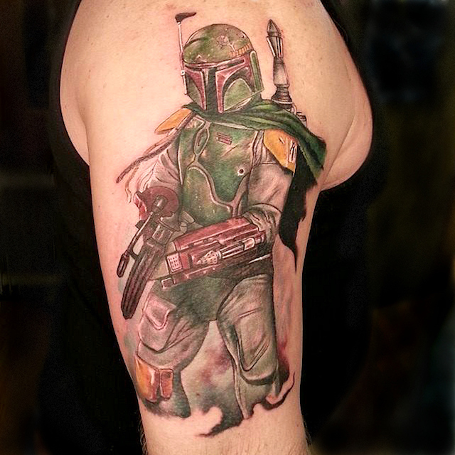Boba Fett Tattoos