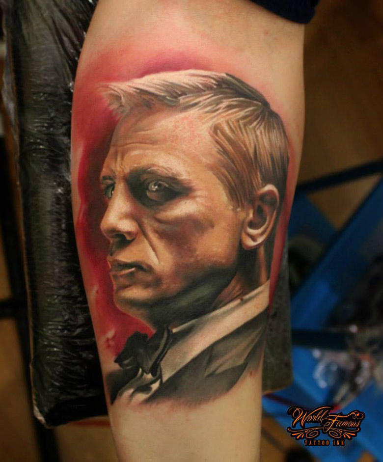James Bond Tattoos