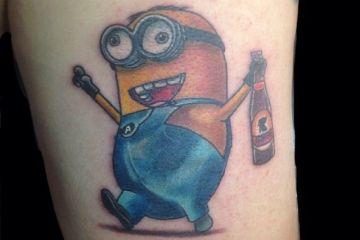 Minion Tattoos