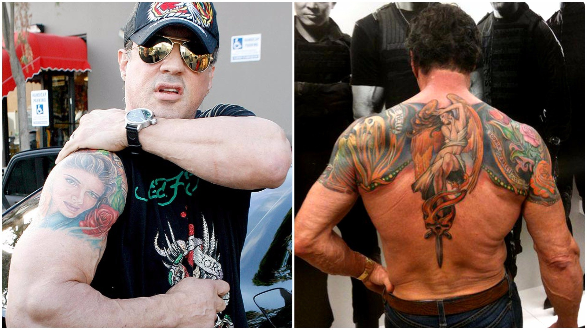 Sylvester Stallone's Tattoos