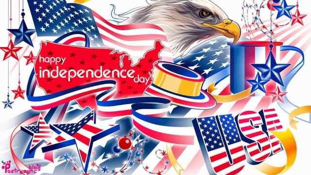 4 July Wish You A Very Happy Independence Day Wishes And Greetings Images