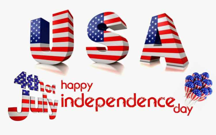 4th July Greeting Card For Friends