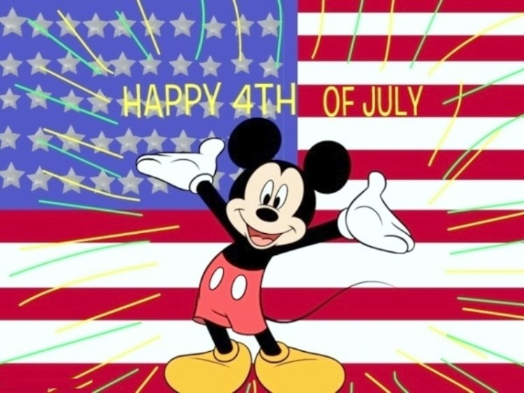 4th of July Wallpapers 4th of July Cartoon Greetings Message Graphics