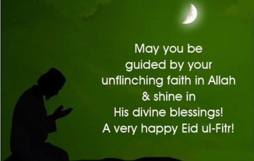 A Very Happy Eid al-Fitr Wishes Message Picture