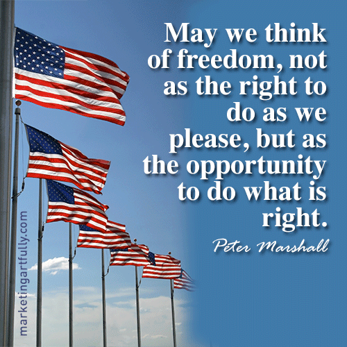 Best 4th July Greetings Quotes Image