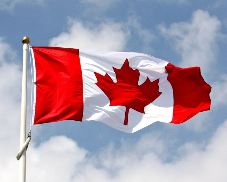 Best Wishes Happy Canada Day Greetings Flag Wallpaper