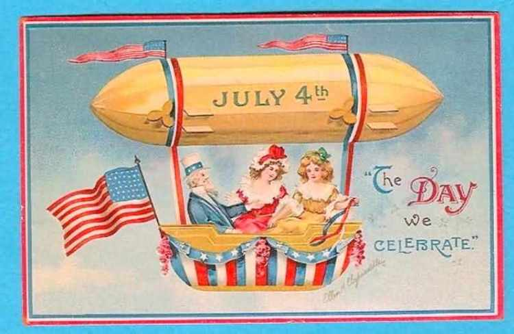 Celebrate Happy Independence Day 4th of July Greetings Wishes Message Image