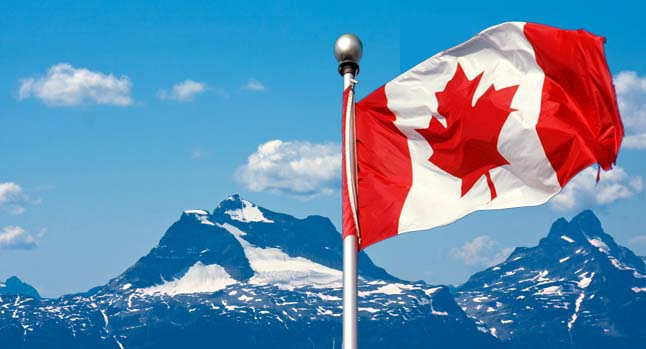 Celebrations Canada Day Flag Wallpaper Message Image