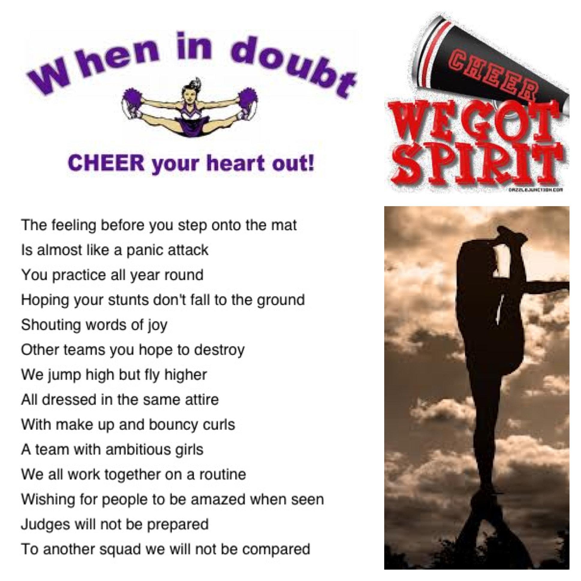 Cheer Poems And Quotes