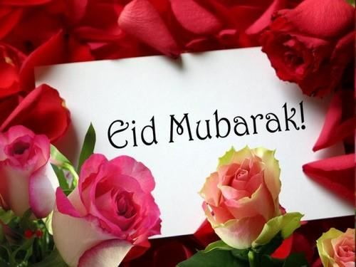 Eid al-Fitr Greetings Card Wishes Message Image