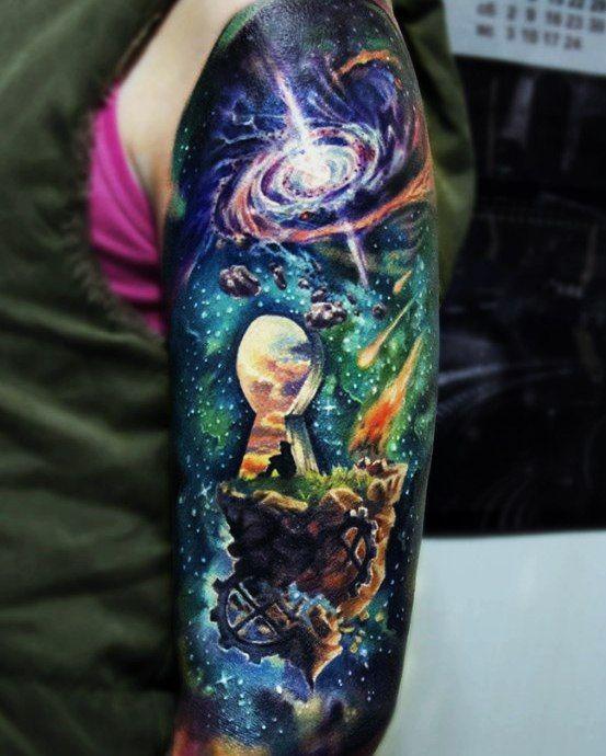 Galaxy Tattoos