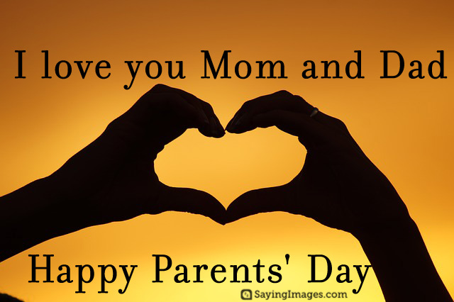 God Bless U Happy Parents Day Greetings Message Image