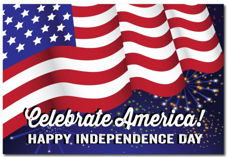 God Bless You America 4th of July Best Wishes Greetings Message Image